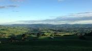 The Waikato farmland surrounding Maungatautari Mountain (photo credit: Leila Walker)