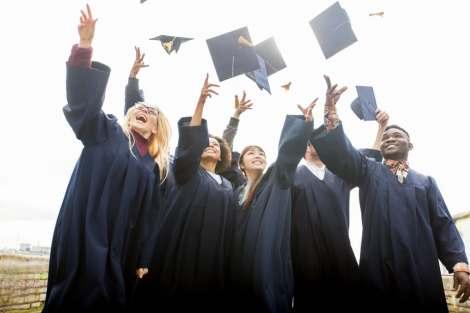 Multicultural graduation